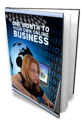 Product picture 1 Month To Your Own Online Business With Resell Rights
