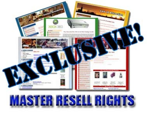 Product picture 10 New Niche Sites With Full Master Resale Rights