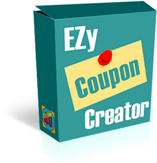 Product picture Ezy Coupon Creator Software With Master Resale Rights