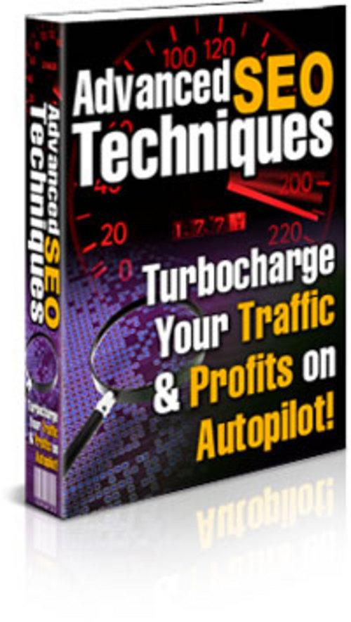 Product picture Advanced SEO E-Book With Private Label Rights